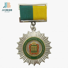 Free Design Alloy Casting Silver Custom Medallion Metal Trophies Medal of Honor