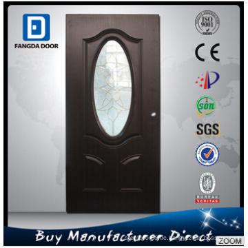 Rahmen verfügbar für gehärtetes Glas eingefügt Stahltür