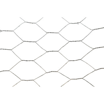 Red hexagonal galvanizada sumergida caliente