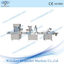 Etiquetado de llenado automático y máquina de tapado de estaño