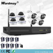8CH 1.0 / 2.0MP Wireless Wifi NVR Kits
