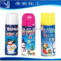 Fiesta de aerosol de nieve para la boda y la decoración de Navidad