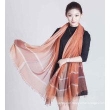 30%Silk 70%Model Print Scarf