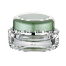15ml 20ml 30ml 50ml Embalagem acrílica do frasco cosmético oval