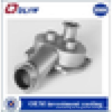 Fundición certificada iso fundición oem calidad piezas de la bomba de acero inoxidable