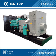 Générateur diesel 200kVA-3000kVA avec disjoncteur ABB
