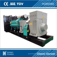 Gerador a diesel 200kVA-3000kVA com Disjuntor ABB