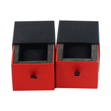 Custom packaging manufacturer fragrance candle sliding gift box with ribbon