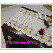 PVC Beautiful Long Lace Table Runner in Roll