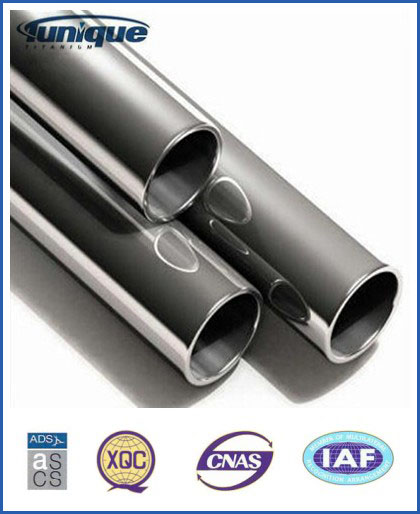 Hot sale Gr2 Titanium Tube voor Chemical, Petroleum, Ocean