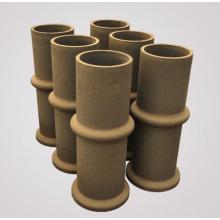 Tuyau de carbure de silicium industriel