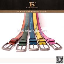 Cinturones de cuero de las mujeres hermosas de la alta calidad de la manera