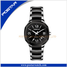 Stainless Steel and Ceramic Watches Fashion Sports Mens Watches