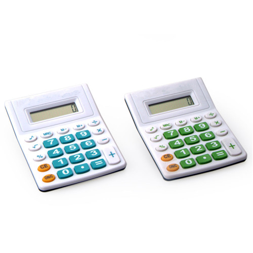 semi desktop calculator