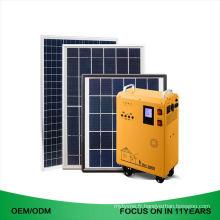 80Ah Mini entier 220V Chine Fournisseur de système d'énergie solaire à la maison