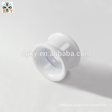 Shining White Acrylic piercing plugs ear gauge jewelry