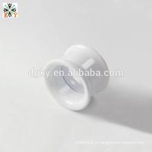 Shining White acrílico piercing plugues orelha gauge jóias