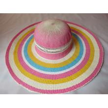 Chapeau de femmes de papier de mode