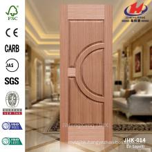 JHK-014 Cheap Specially Model In Ukraine House Construction Veneer Sapele Screen Door Panel                                                                         Quality Assured
