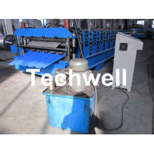 0.25 - 0.8mm Thickness 18 Forming Stations Double Deck Roll Forming Machine