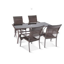 Outdoor Rattan Dining Export PE Round Furniture
