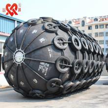 Hecho en China barco anticolisión de goma defensiva de goma con certificación ISO9001