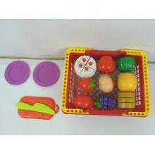 Educational Cutting Food Playset for Children
