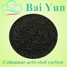 Нинся активированный завода по производству углеродного 4мм гранула активированного угля