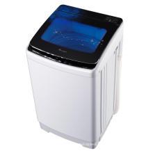 Máquina de lavar automática automática de vidro transparente preto 9KG