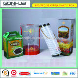 2014 Disposable Clear Food Grade Personalized Take Away Container Popular Plastic Food Boxes for Vegetable and Wine