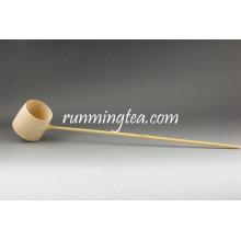 Ensemble à cuiller à mesurer à la main en bambou à la main
