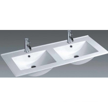 Thin Edge Vanity Ceramic Bathroom Basin (1202E)
