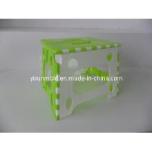Molde plástico plegable del taburete, Molud de la inyección