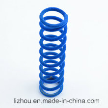 Noise Reduction Flocking Compression Spring