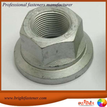 Hot Sale for for China Large Flange Nuts, Hexagon Flange Nuts, Special Flange Nut Manufacturers High Quality DIN6923 Hexagon Flange Nuts supply to Tuvalu Importers