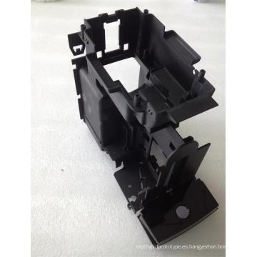 Moldeo por inyección de plástico complejo / molde de plástico para componentes electrónicos (LW-03645)