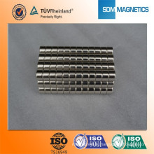 Высокомагнитный магнит для магнита N35 с гальваническим покрытием для двигателя