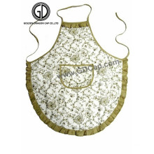 Gute Qualität Baumwolle Nette Damen Küche Künstler Schürze mit Tasche
