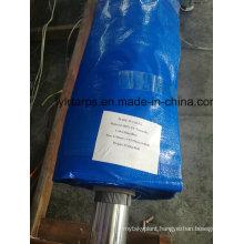 Blue Waterproof PE Tarpaulin Roll, Poly Tarp Truk Cover