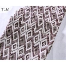 The Simple Rhombus Jacquard Sofa Fabric for Furniture