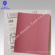 Aluminiumoxid wasserfestes Sandpapier, Latexpapier, P60-2000