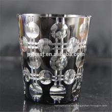 Taza de café de cristal de alta calidad