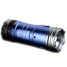 3X18650 Batt Blue and White LED Fishing Light