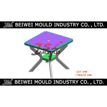 Inyección cuadrado de mesa de plástico molde
