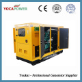 30kw Soundproof motor diesel planta generadora de energía eléctrica