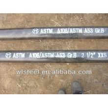 """1 """"tubo de aço carbono astm a / sa 106 q235 programação 40"""