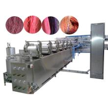 Multi color yarn dyeing machine
