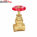 China supplier -1164 italy brass gate valve brass valve 57 brass gate valve LINBO-C465