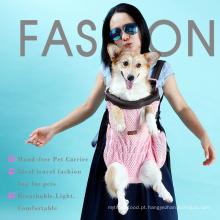 Frente Pet Dog Carrier Frente Peito Mochila Pet transportadora mochila Cat Filhote de Cachorro Sacola Tote Bag Sling Ao Ar Livre