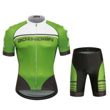 Entwerfen Sie Ihre eigene Coolmax Sublimated China Customized Radfahren Jersey